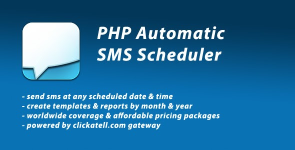 1-PHP-Automatic-SMS-Scheduler