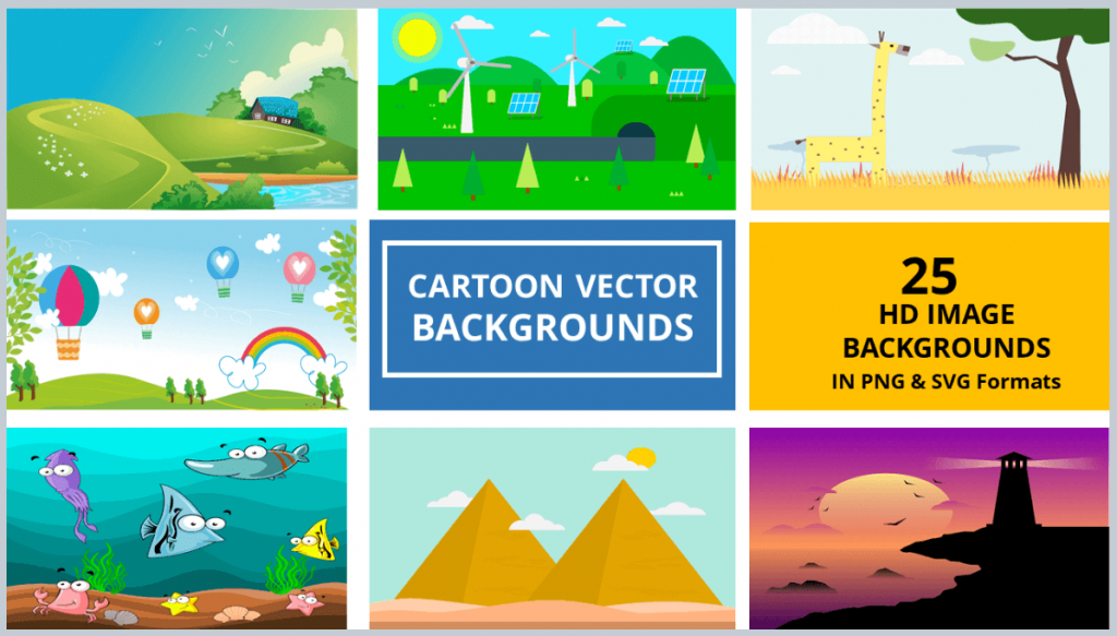 23-CARTOON-BACKGROUNDS-VECTOR-PACK