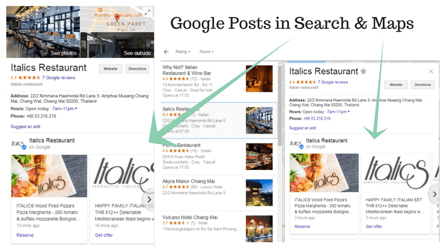 Google-Posts-In-Search&Maps