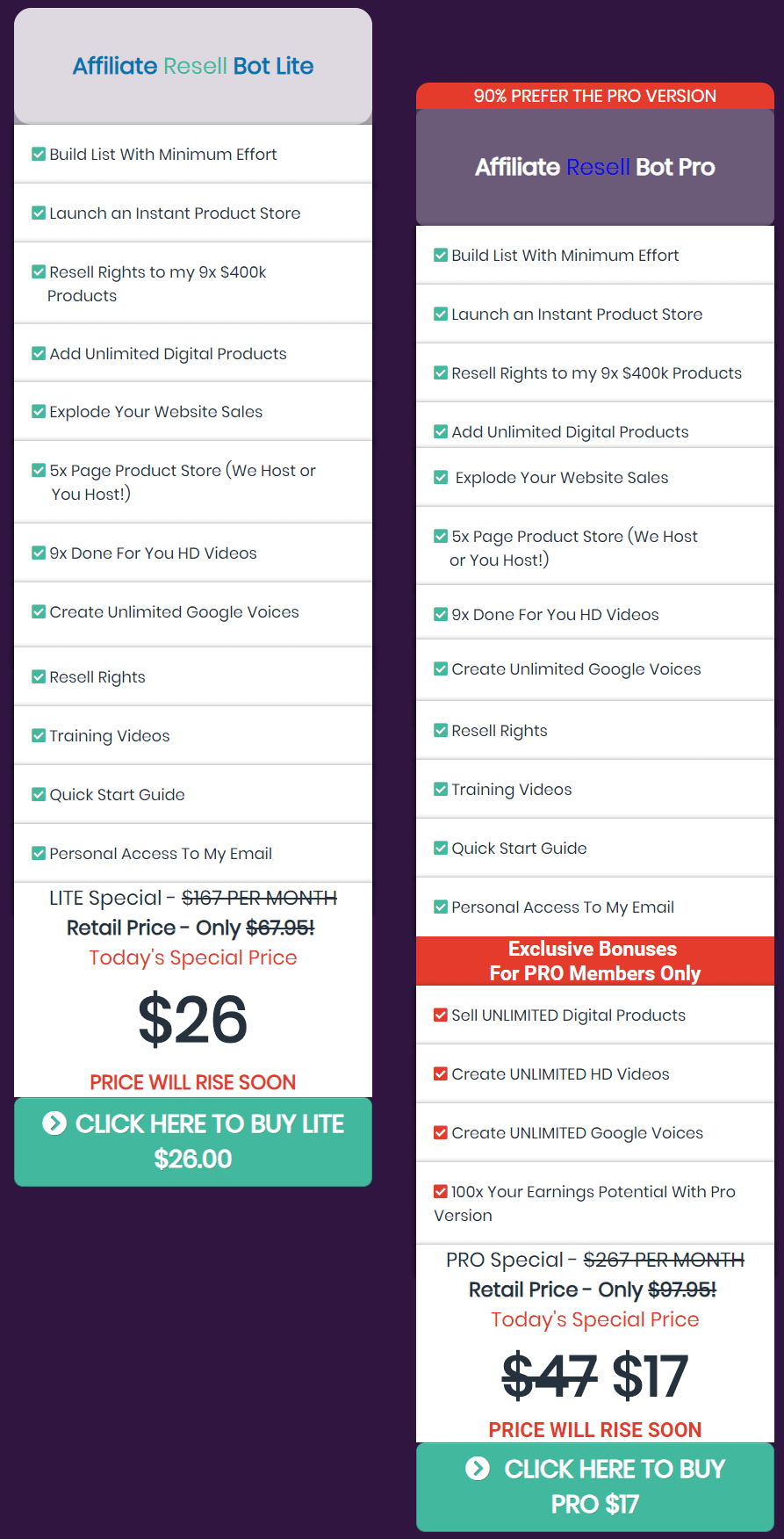 Resell-Bots-Review-Price-Plan