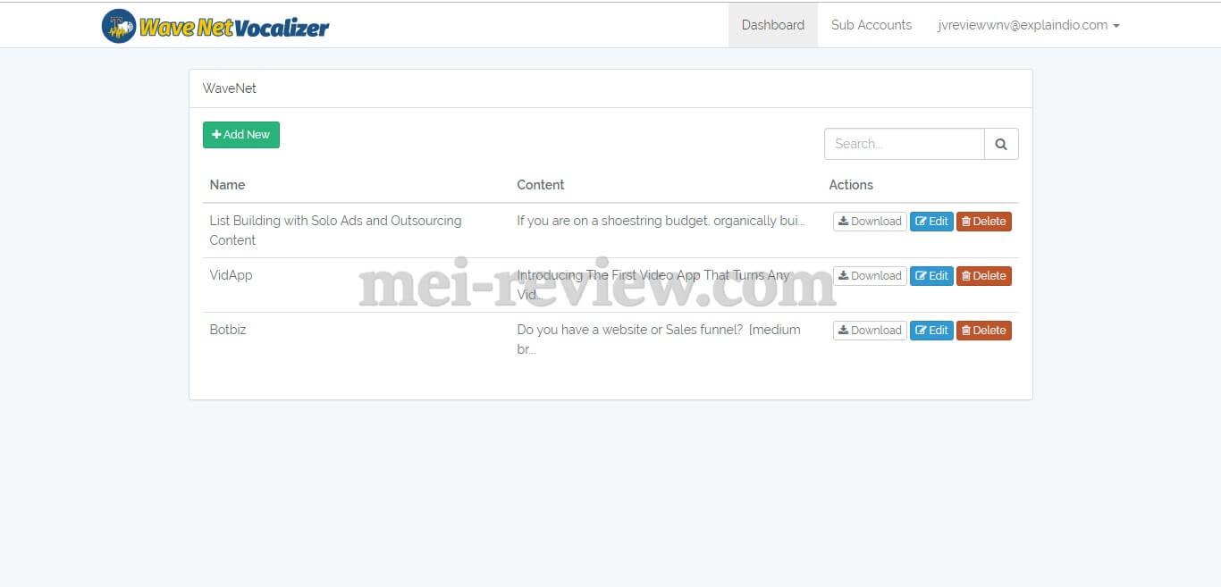 Vocalizer-Bundle-2020-Review-WaveNet-Dashboard