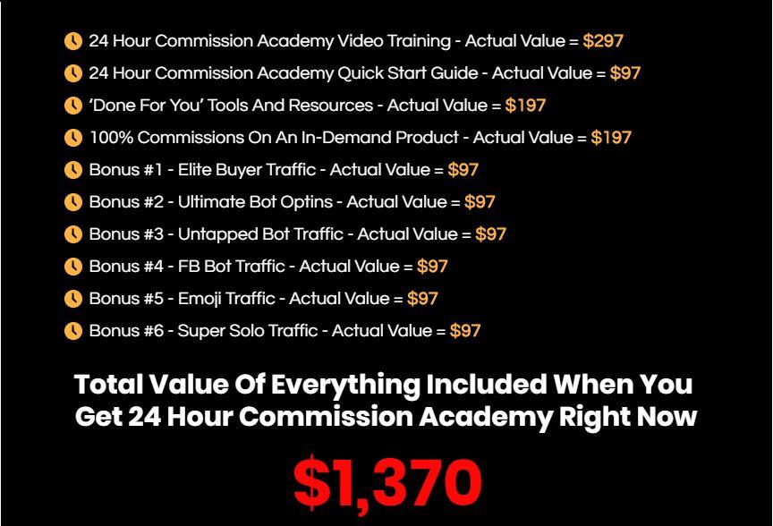 24-Hour-Commission-Academy-Review-Recap