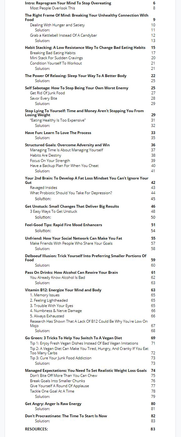 Fat-Loss-Mindset-PLR-Review-Ebook