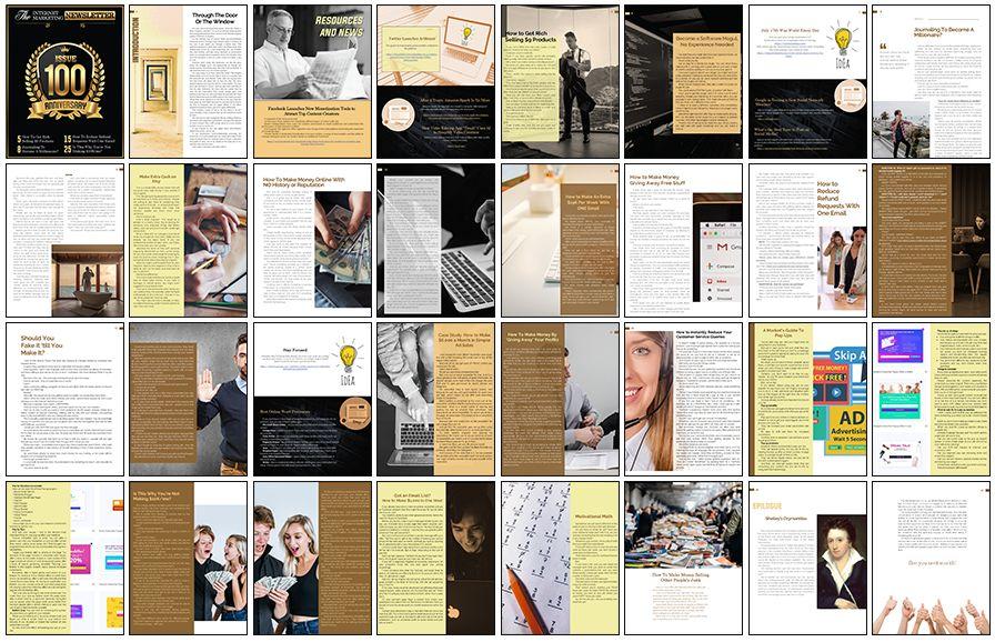 Internet-Marketing-Newsletter-PLR-Review-Article