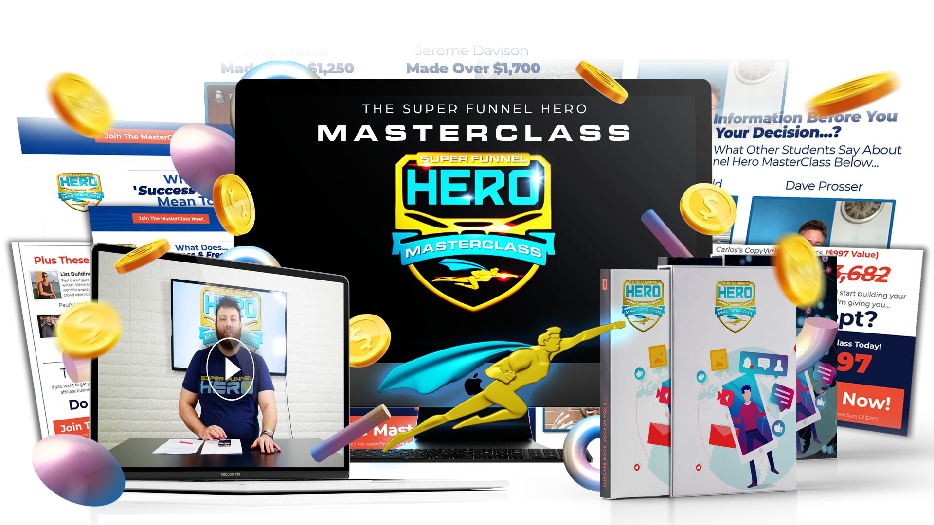 Super Funnel Hero Masterclass Review - Easily Bank Up To $987 A Lead