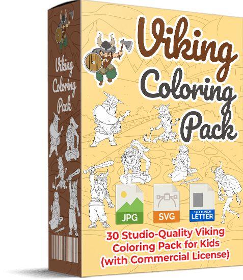 Viking-Coloring-Pack-PLR-Review
