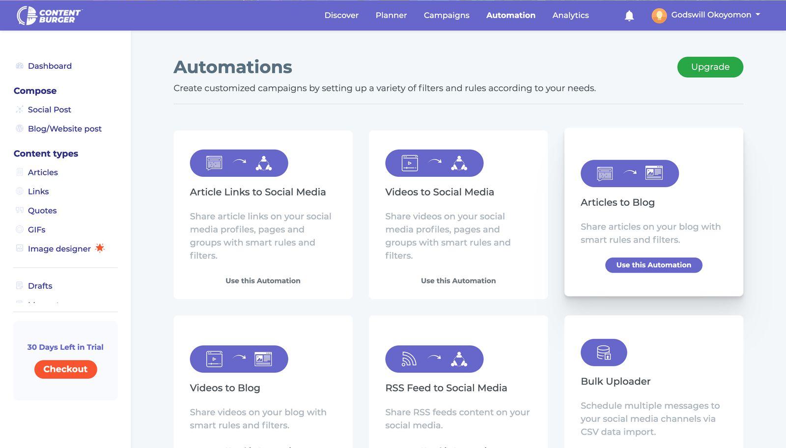 ContentBurger-Automation-Recipes