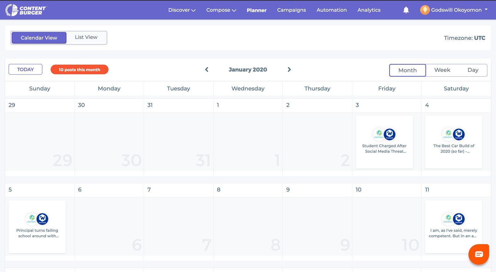 ContentBurger-Planner