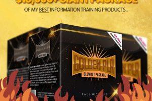 Golden-PLR-Blowout-Package-Review