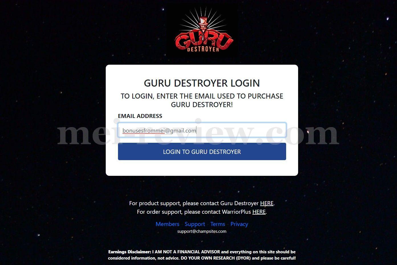 Guru-Destroyer-1-Login