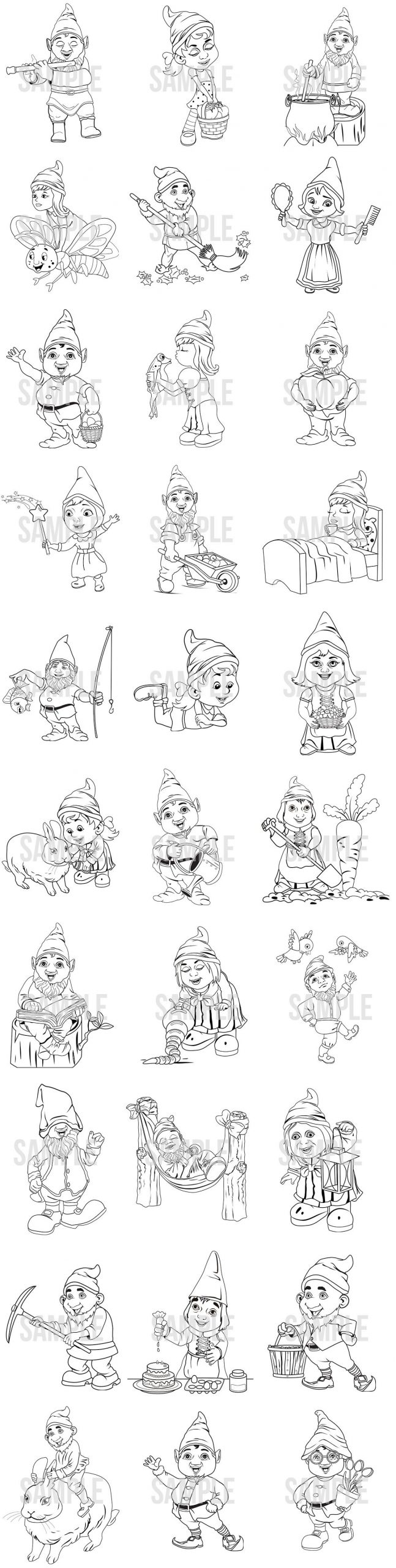 [LCB]-Gnome-Pack-Review-Characters