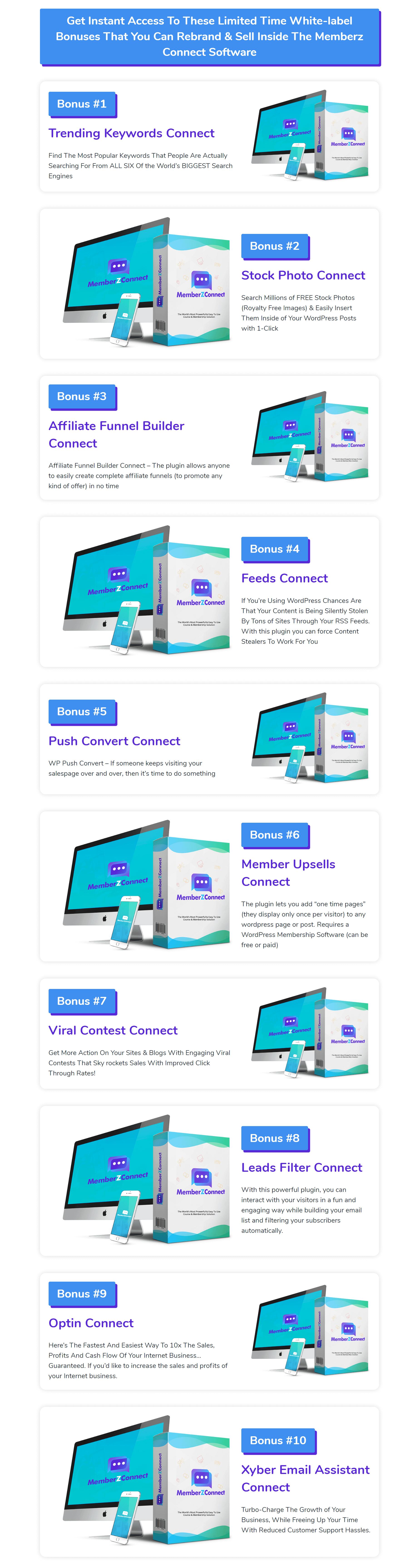 MemberZ-Connect-Bonuses
