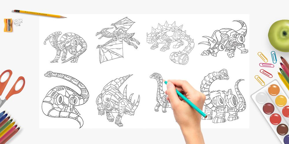 Robo-Dino-Coloring-Pack-sample-2