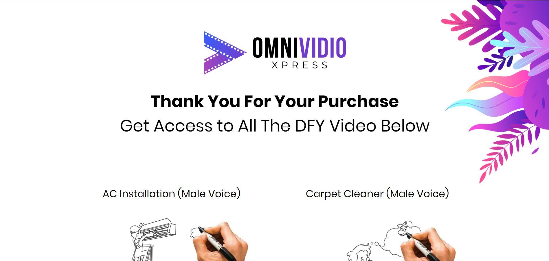 OmniVidioXpress-Demo