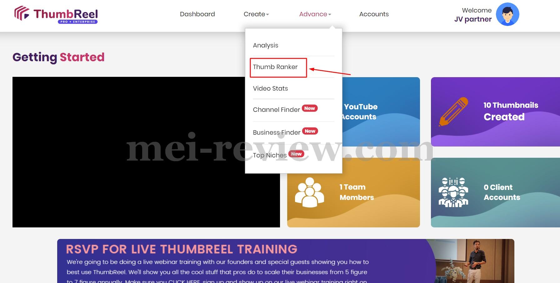 ThumbReel-Demo-33-ThumbRanker