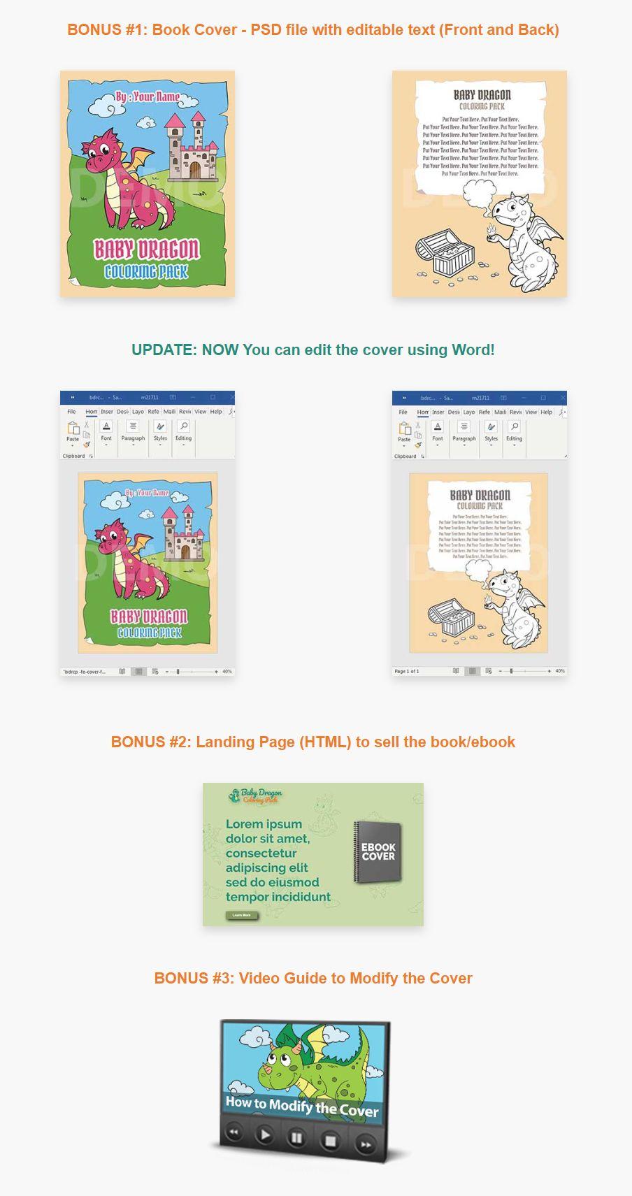Baby-Dragon-Coloring-Pack-PLR-Bonus