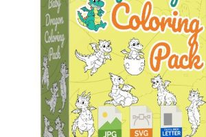 Baby-Dragon-Coloring-Pack-PLR-Review