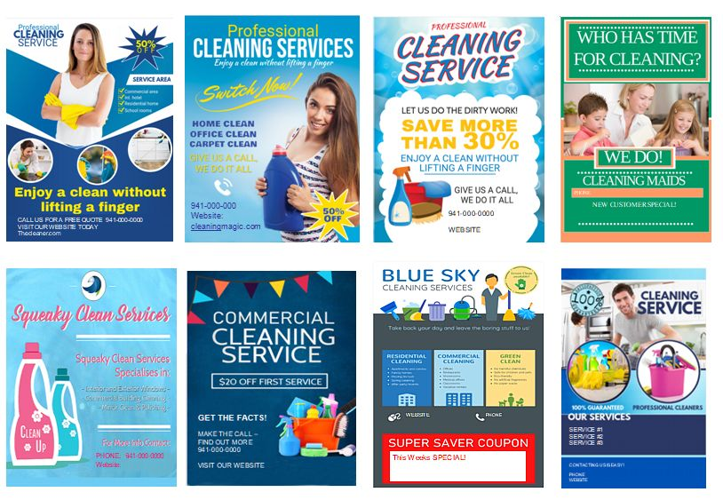 Corona-Cleaning-Cash-Flyer-Template