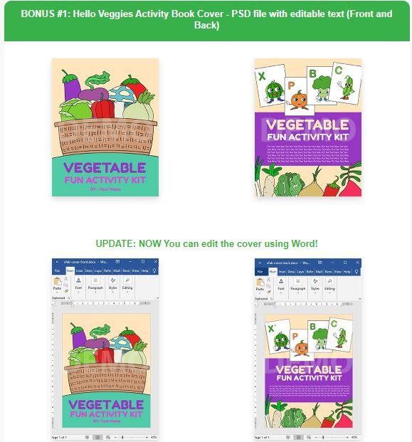 Hello-Veggies-Activity-Kit-PLR-Bonus