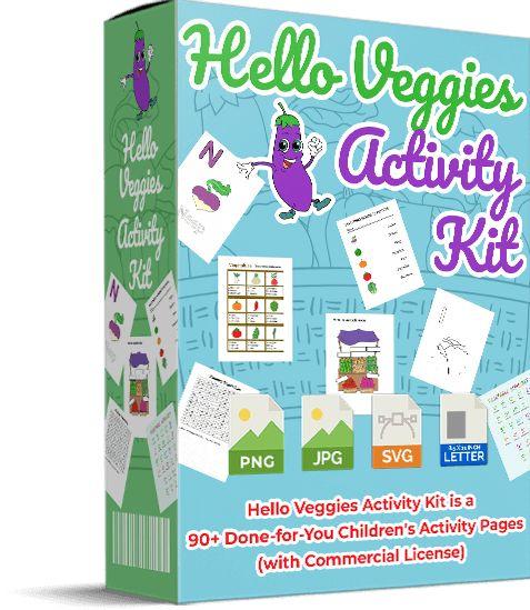 Hello-Veggies-Activity-Kit-PLR-Review