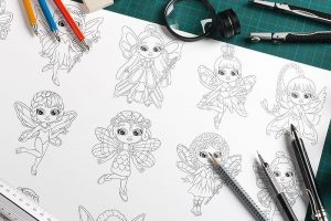 LCB-Dress-Your-Fairy-Coloring-Pack-Review