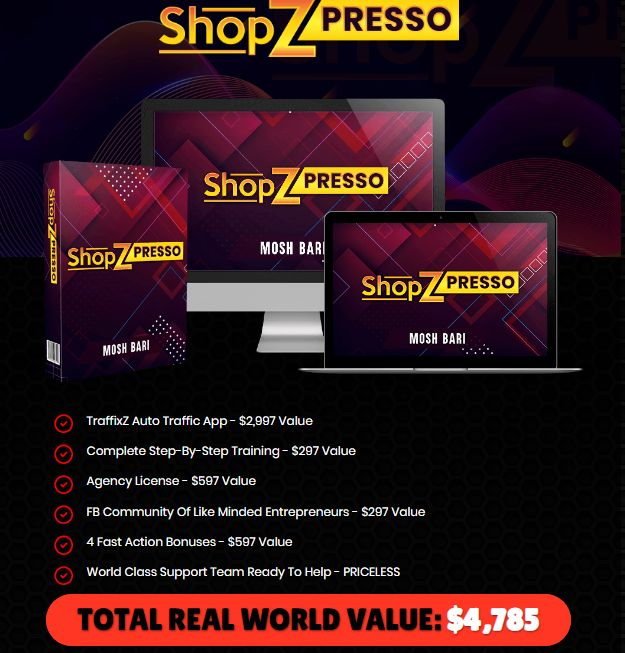 ShopZPresso-Price