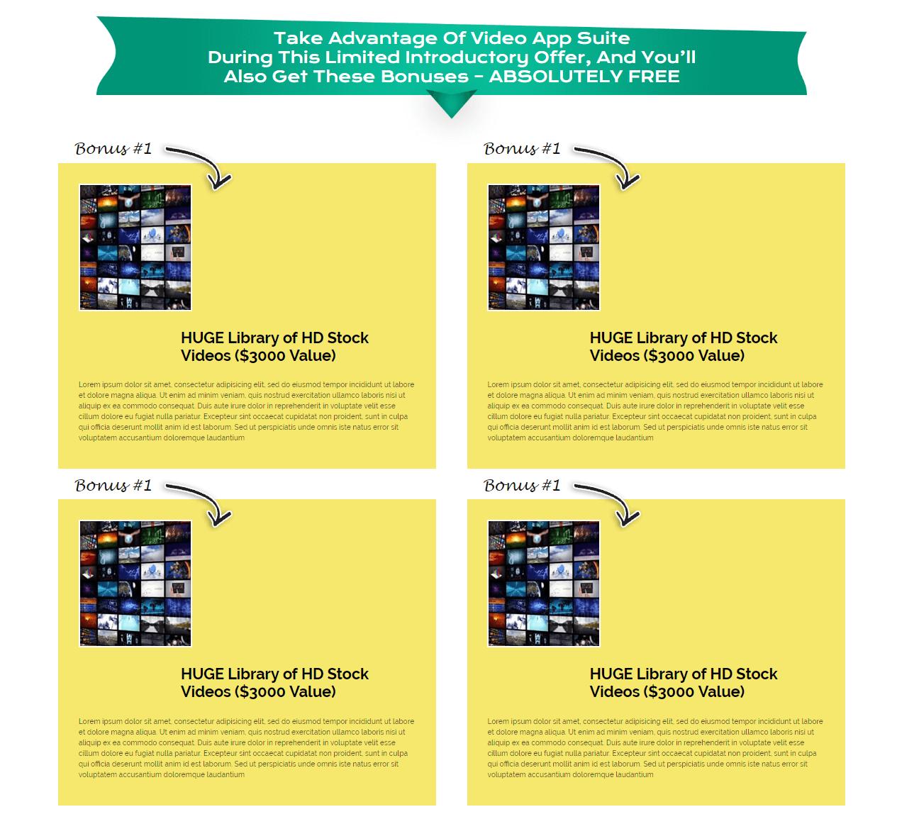 Video-App-Suite-Bonuses