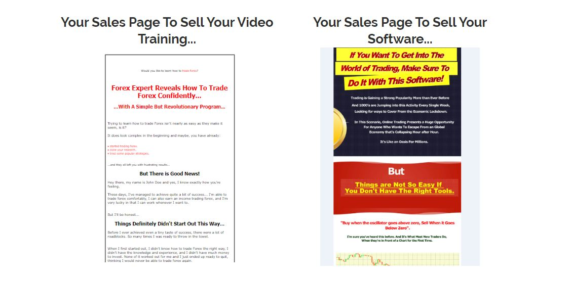 Forex-Software-And-Training-PLR-Salespage