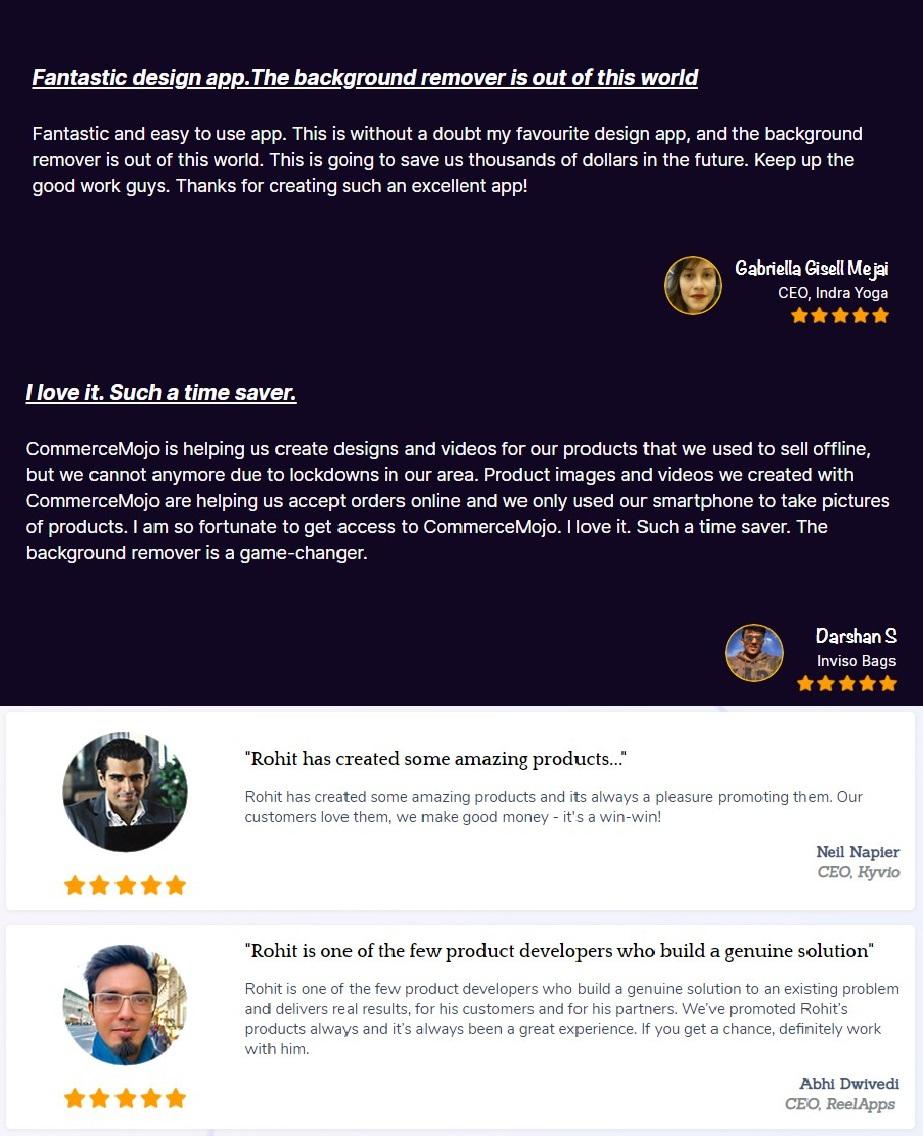 CommerceMojo-feedback