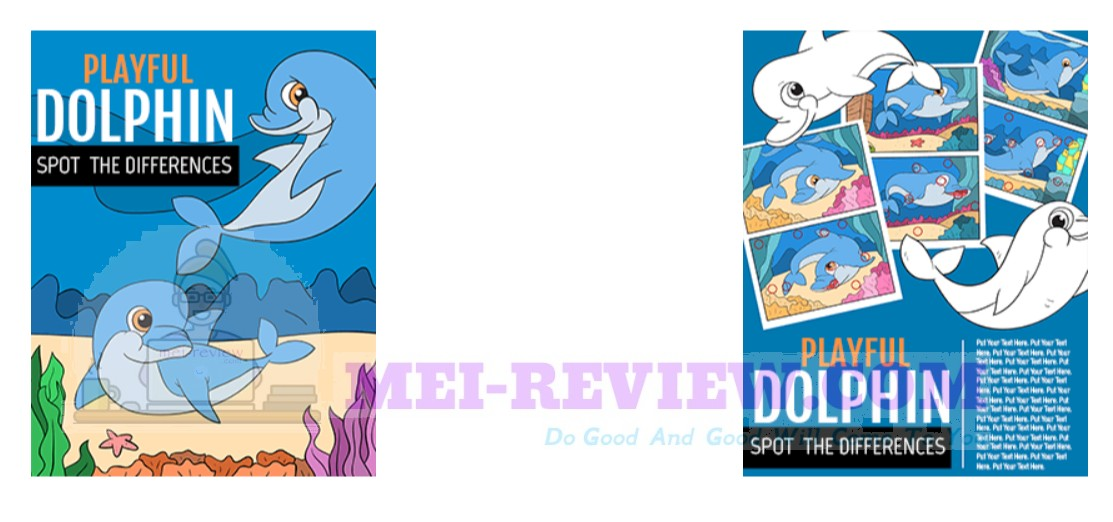 PLR Playful Dolphin Spot The Difference Review & Bonuses
