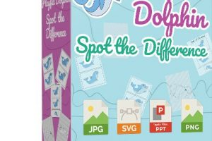 [PLR]-Playful-Dolphin-Spot-The-Difference-review