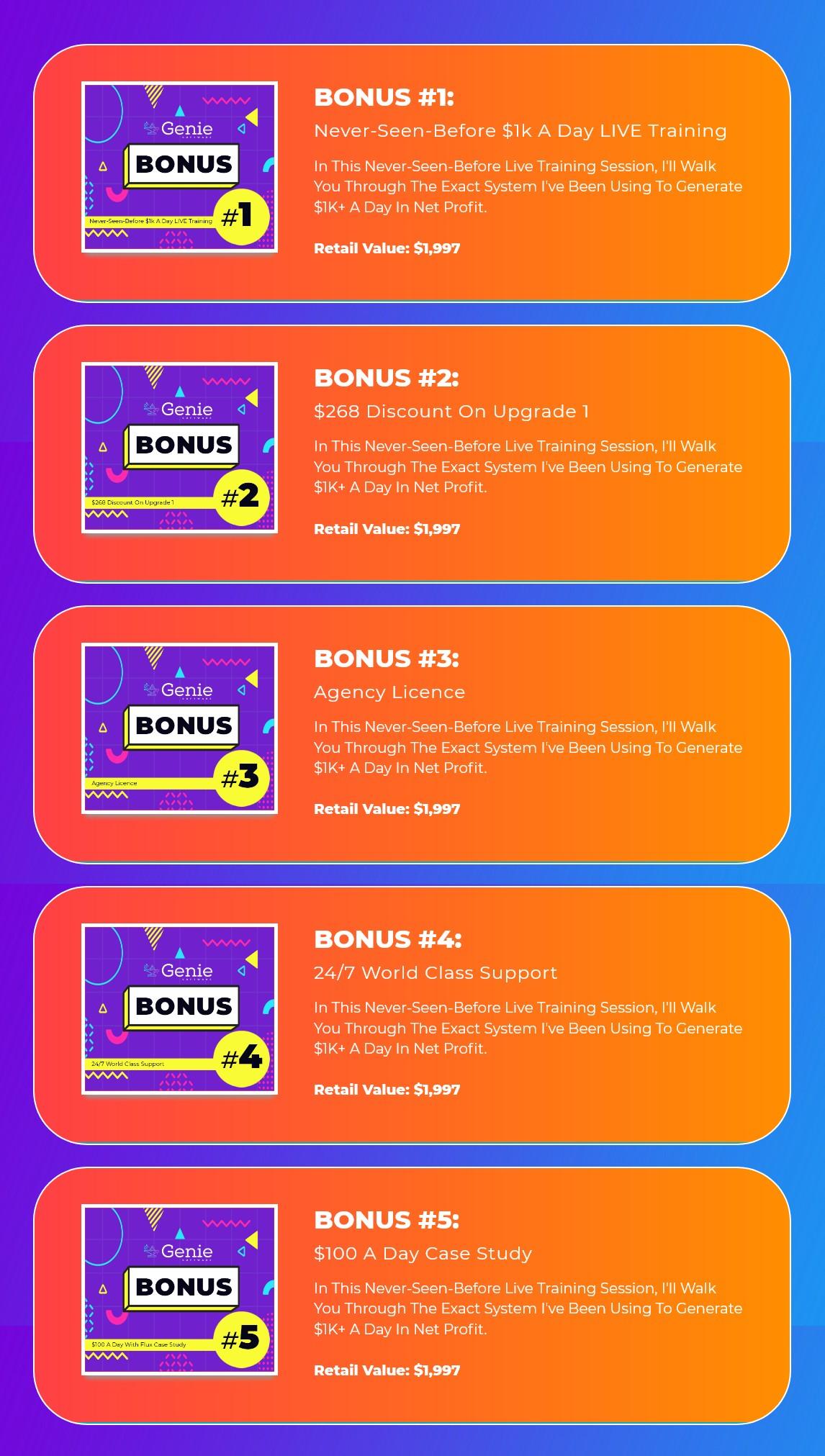 Genie-bonus
