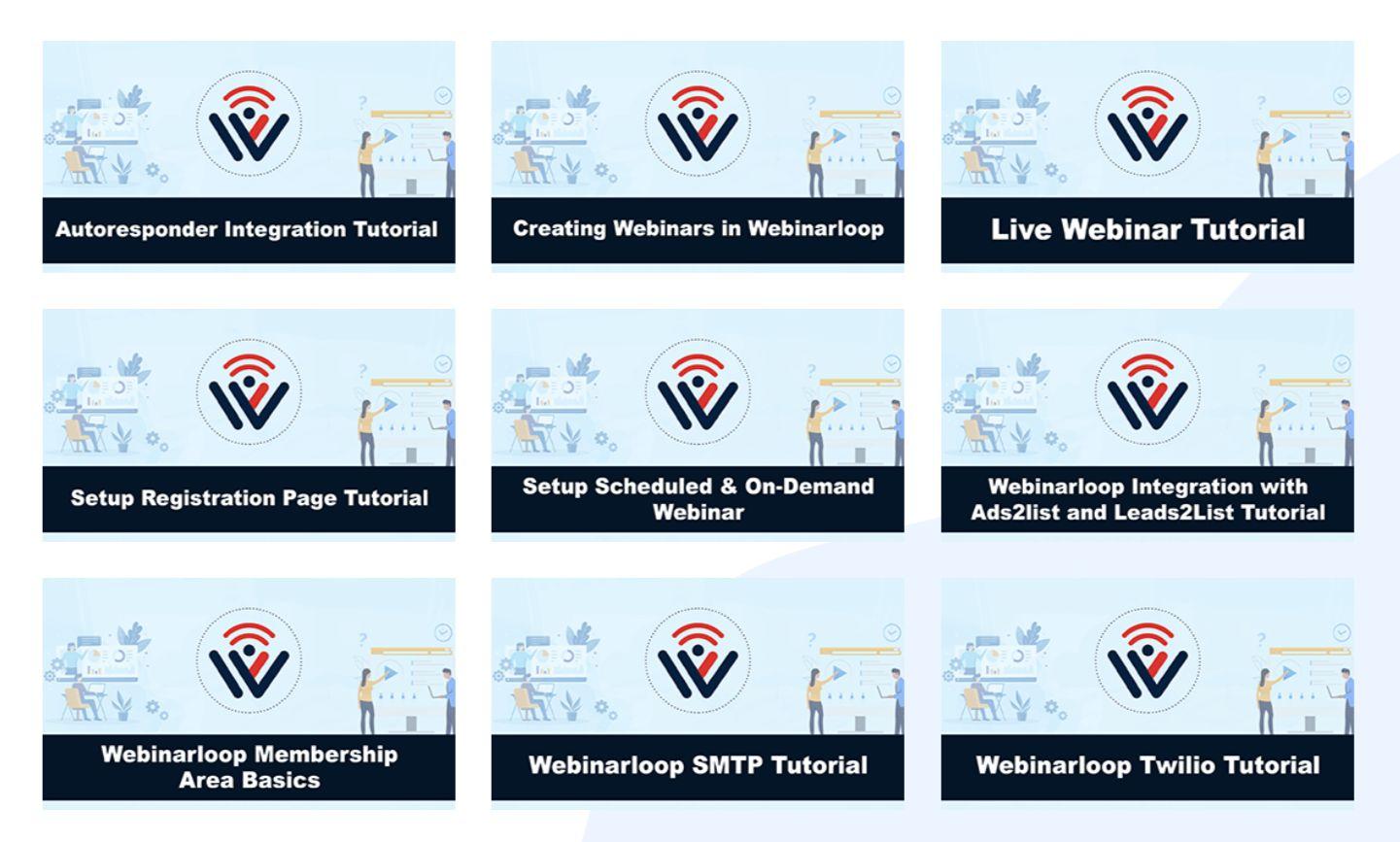 Webinarloop-Training