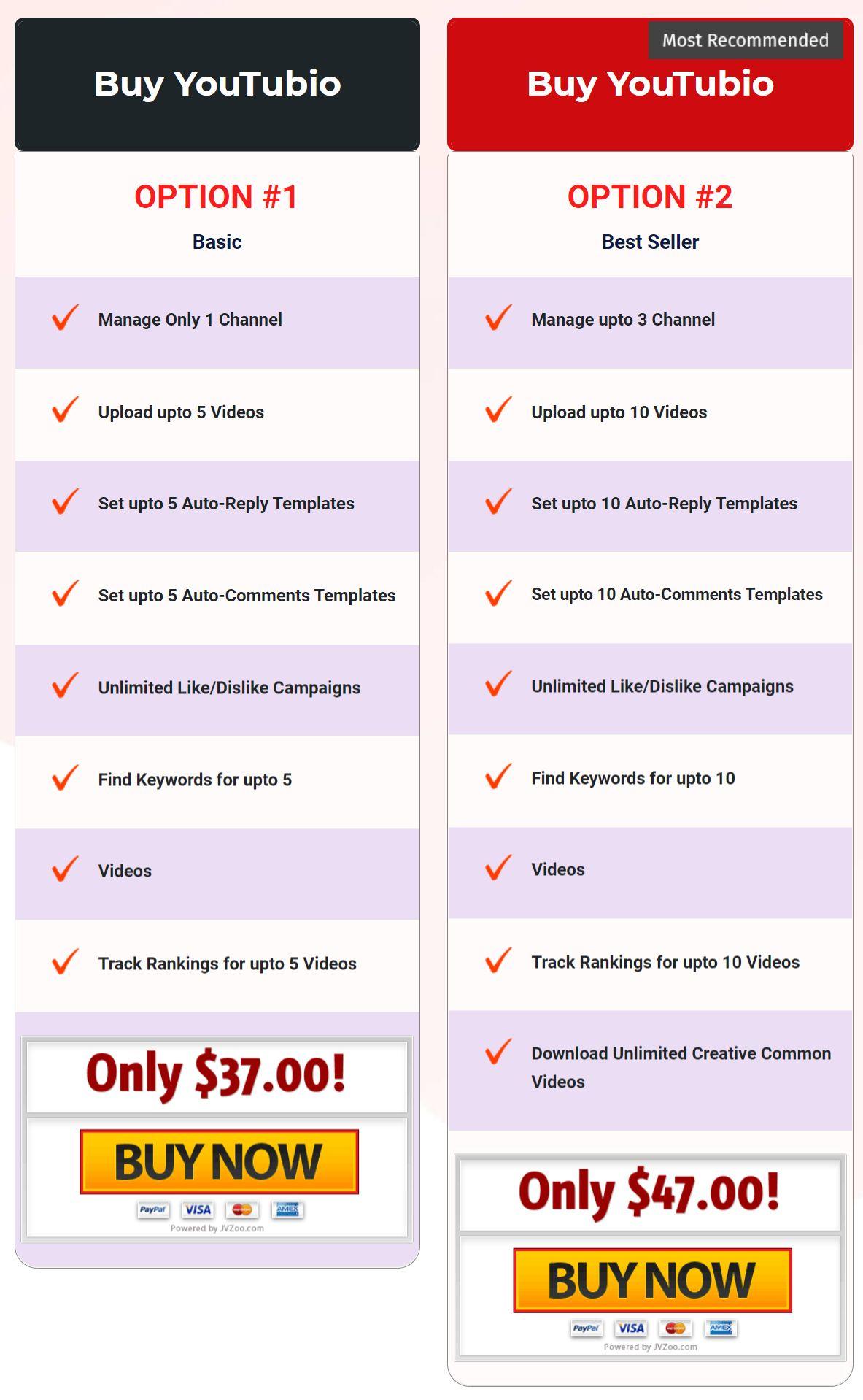 YouTubio-price