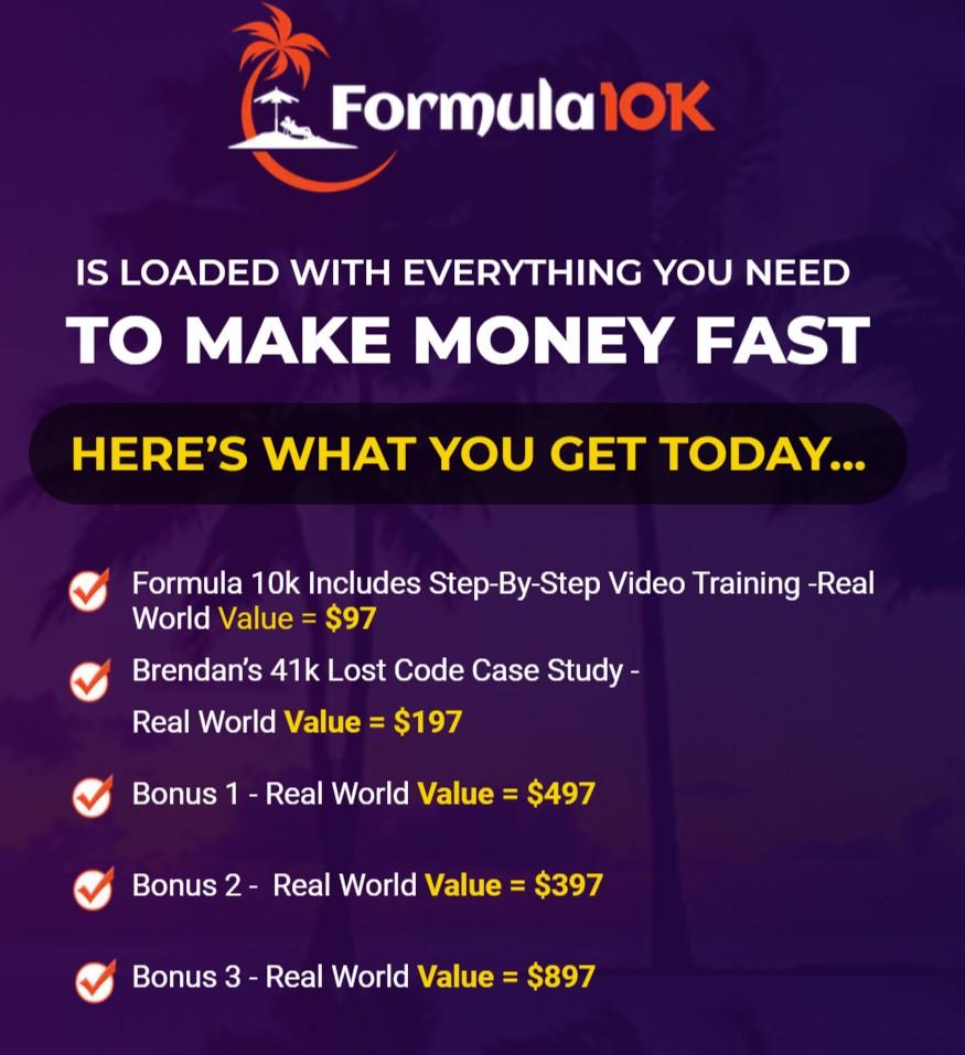 Formula-10K-price