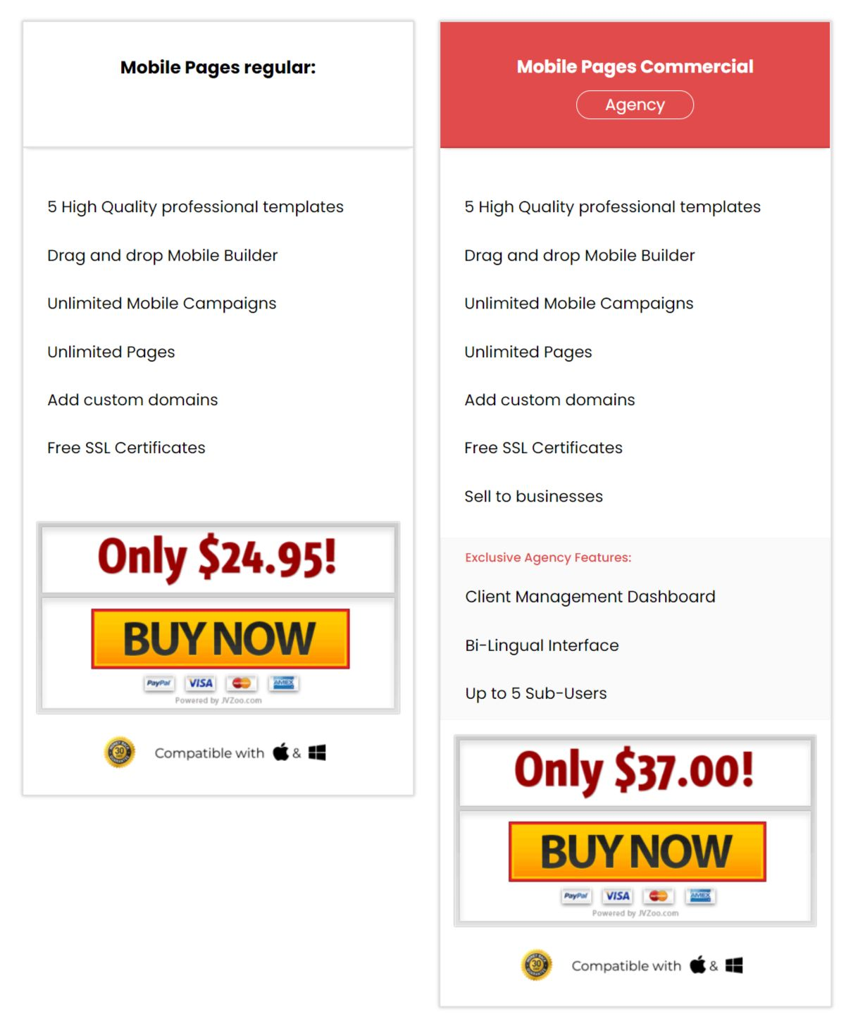 Mobile-Pages-Agency-Price