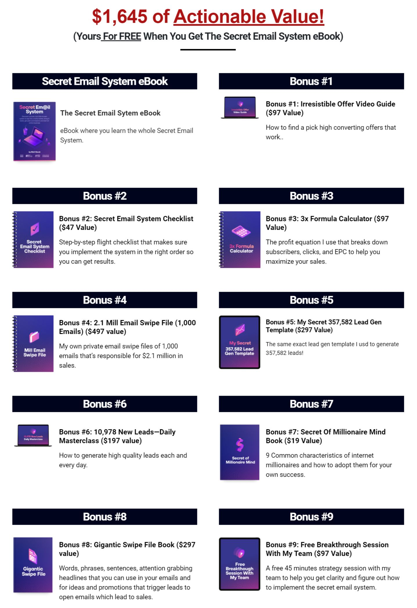 Secret-Email-System-bonus