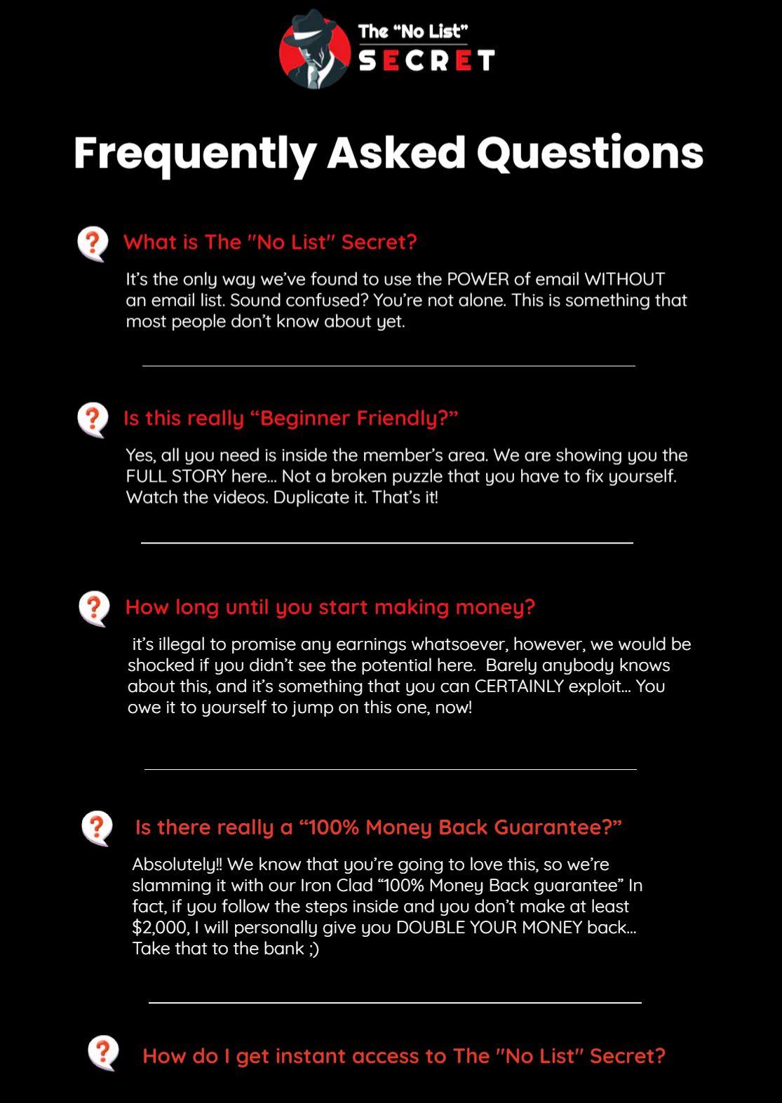 The-no-list-secret-FAQ