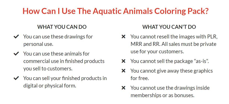 Aquatic-Animals-Coloring-Pack-FAQ