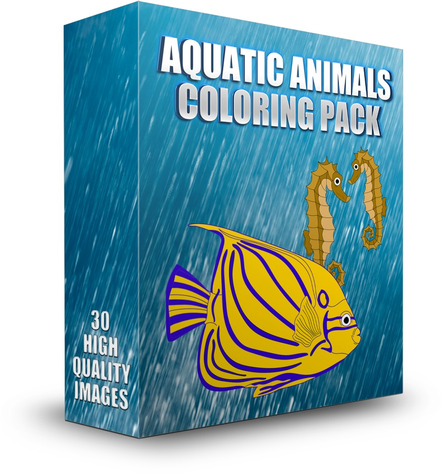 Aquatic-Animals-Coloring-Pack-review