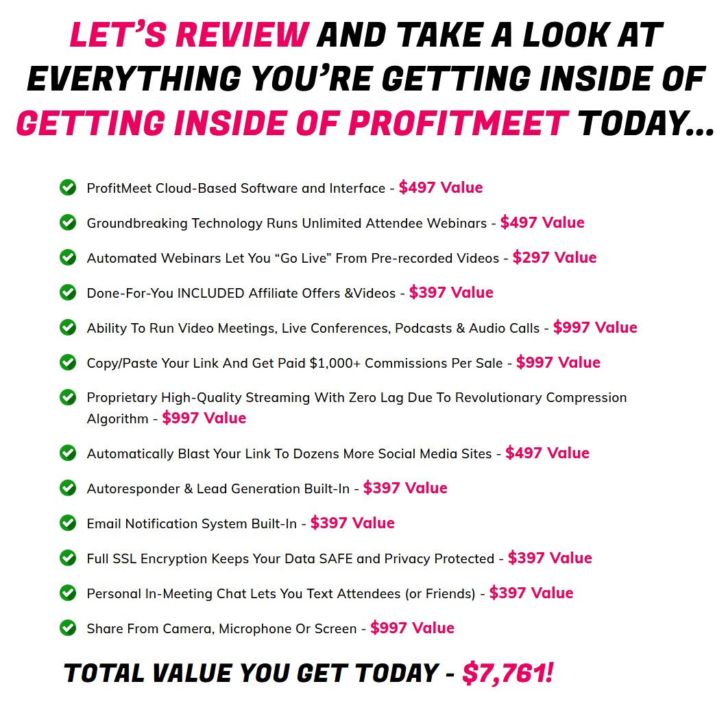 ProfitMeet-price