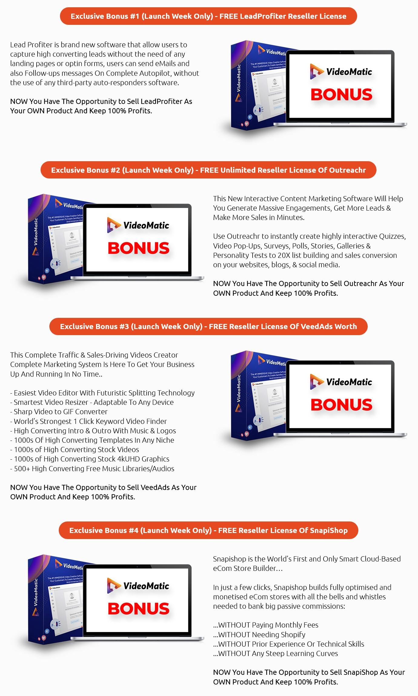VideoMatic-bonus