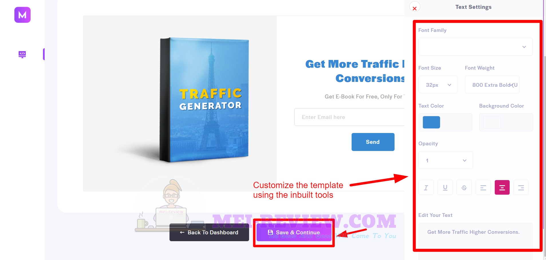 Mightee-Step-5-Customize-Template