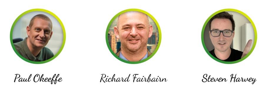 Richard-Fairbairn-Paul Okeeffe-Steve-Harvey
