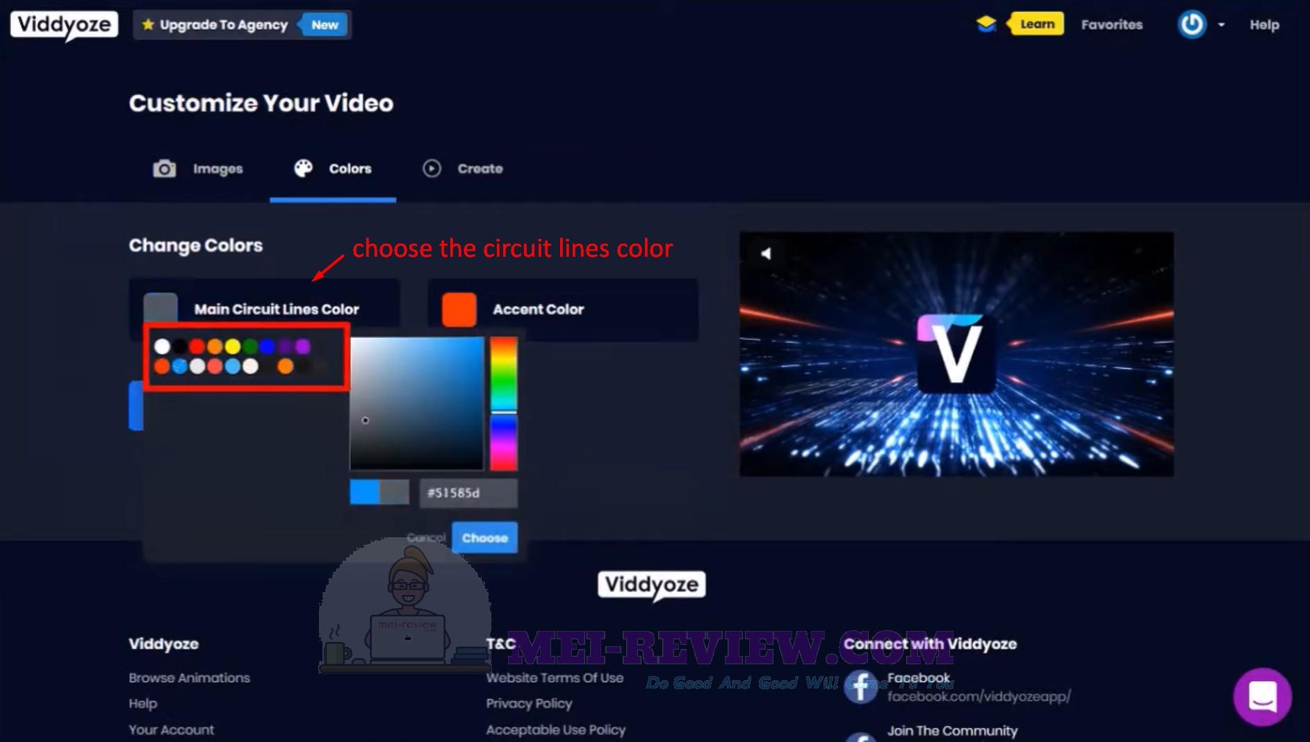 Viddyoze-Step-7-choose-color