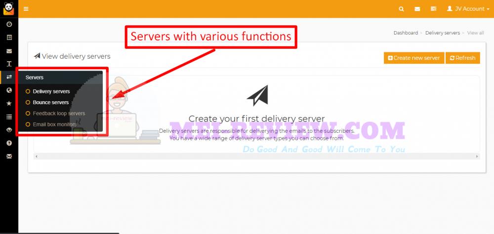 MailPanda-Demo-14-server-options