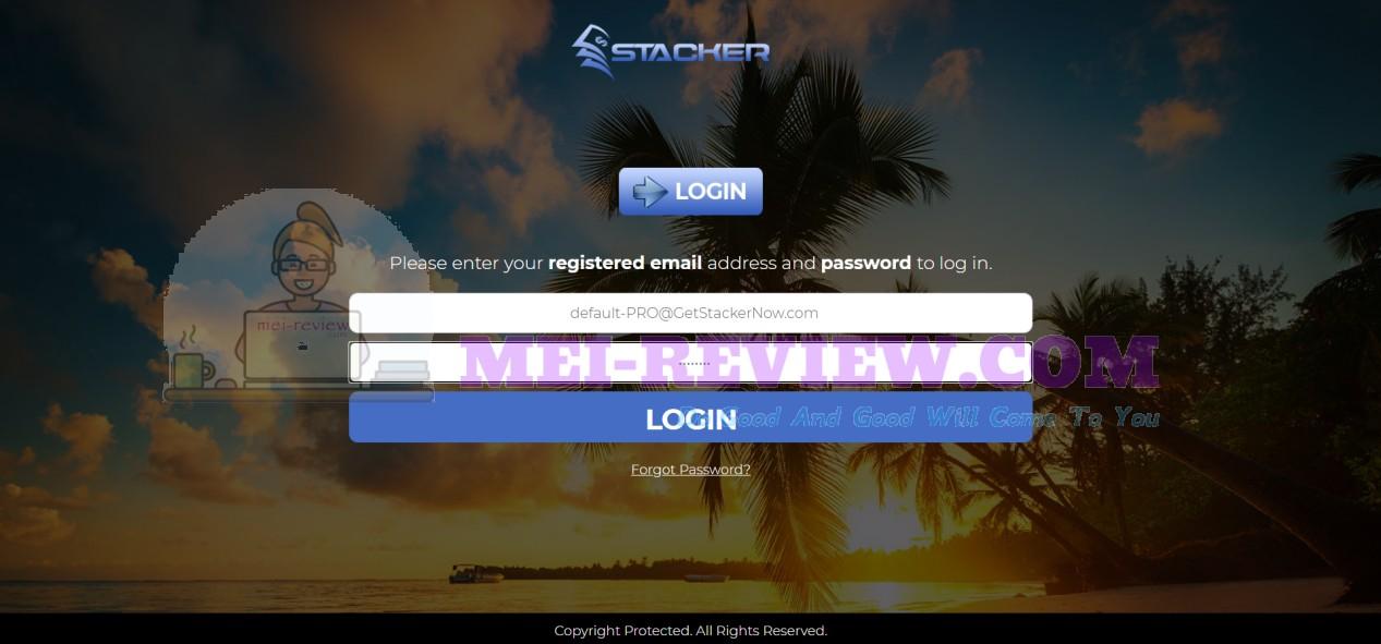 Stacker-app-login