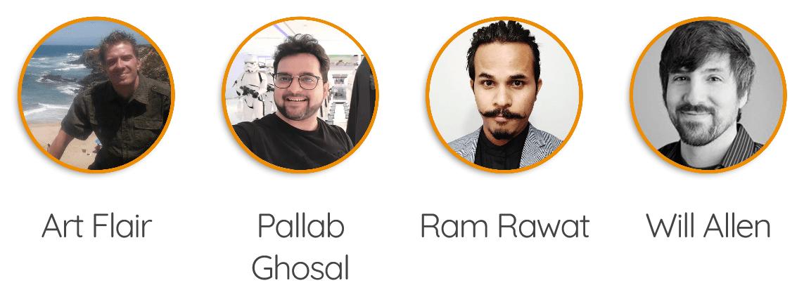 Art-Flair-Pallab-Ghosal-Ram-Rawat-Will-Allen