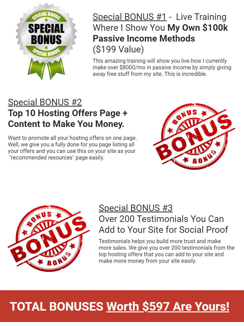 Commission-Host-bonus