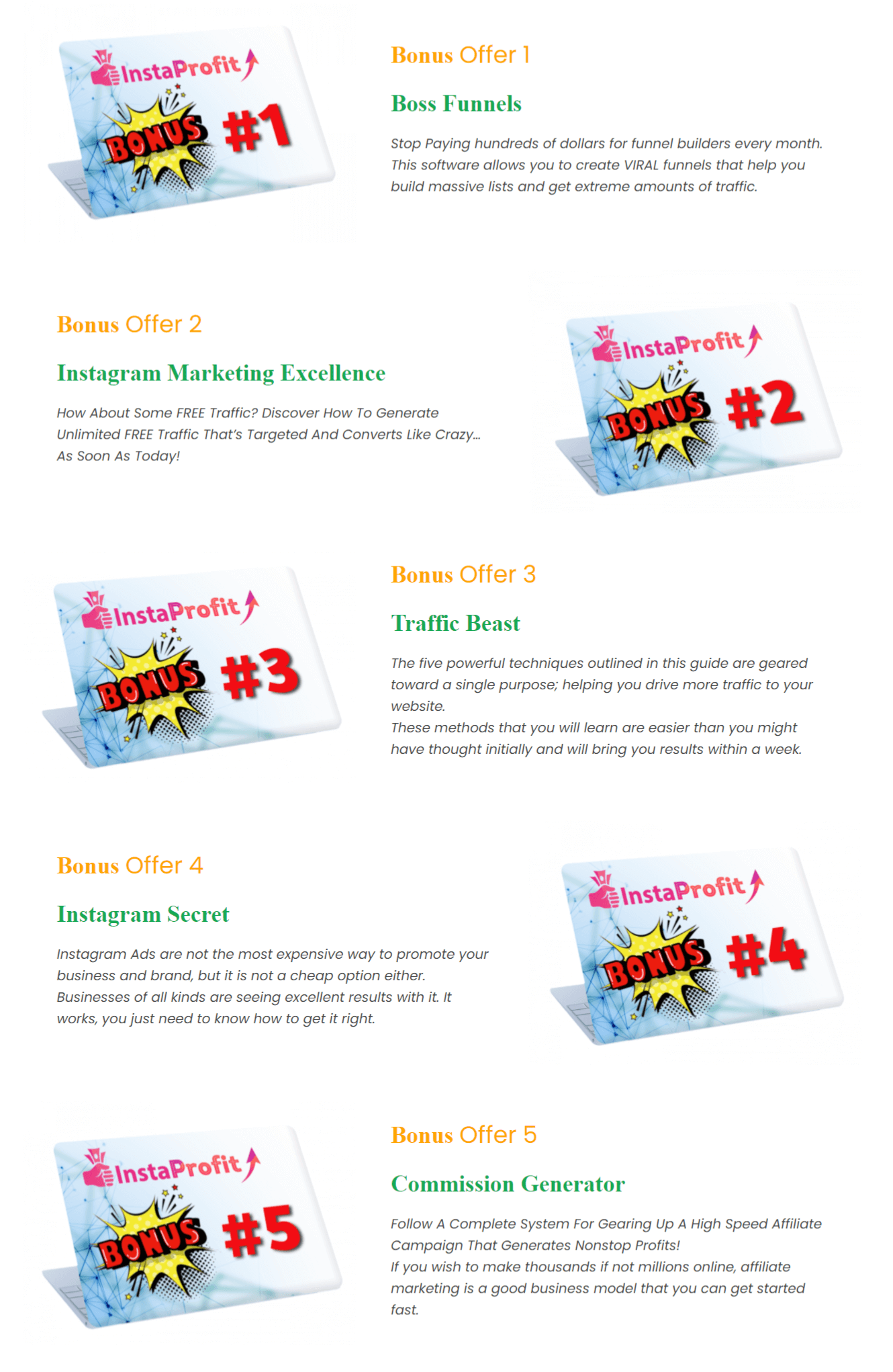 InstaProfit-Bonuses-From-Creator